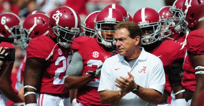 Nick Saban calls Jacob Coker hype unfair, updates T.J. Yeldon and Cam Robinson injuries