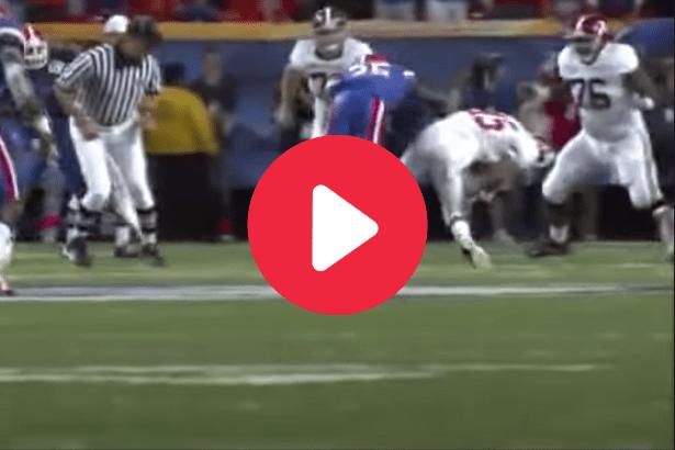 Ahmad Black's Crushing Hit Set the Tone in Florida's 2008 SEC Title