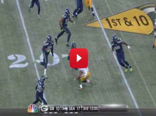 WATCH: Byron Maxwell with a huge interception