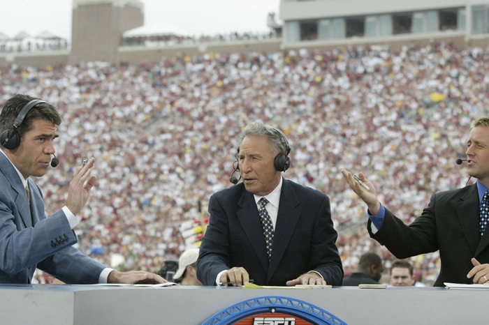 ESPN's GameDay panel predicted the national title game, and Alabama got disrespected big time