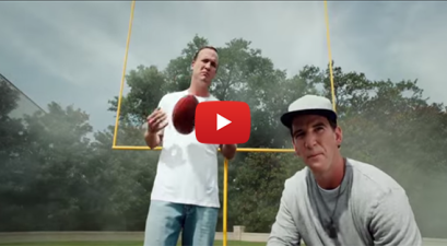 Remember Peyton and Eli Manning's Music Video?
