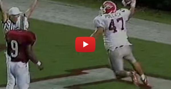 Throwback Thursday Georgia-South Carolina edition: David Pollack's interception
