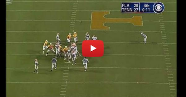 Throwback Thursday: James Wilhoit game-winning field goal over UF