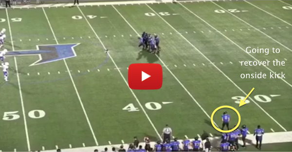 HS Football Team's Trick Play Pays Off Thanks to This Crazy Kid