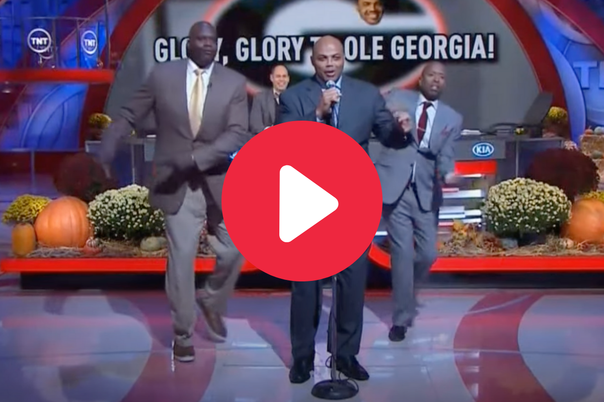 Charles Barkley Singing Georgia's Fight Song Was Anything But Glorious