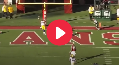 Jarvis Landry's Incredible One-Handed Catch at LSU Rivaled OBJ's