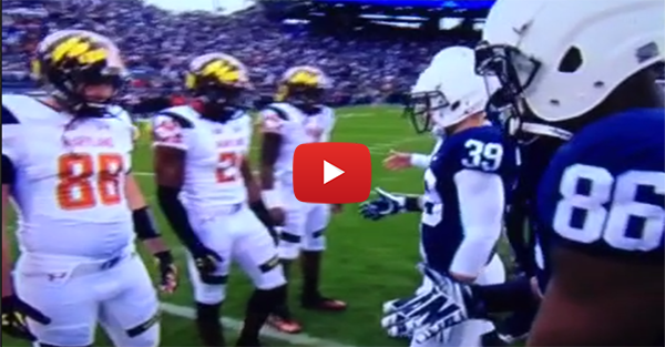 Maryland fined $10,000 for confrontation with Penn State; Stefon Diggs suspended one game