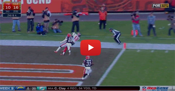 Mike Evans makes terrific touchdown catch for the Bucs