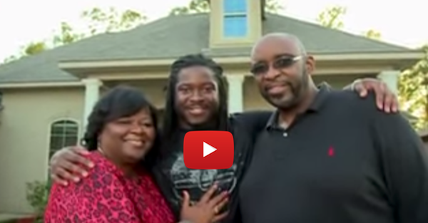 Eddie Lacy built his family a home after being displaced by Hurricane Katrina