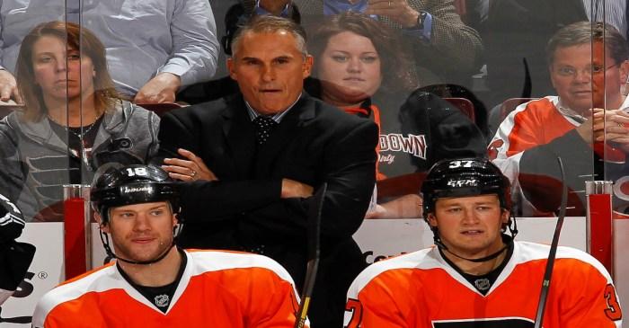 Flyers coach Craig Berube declares the enforcer extinct