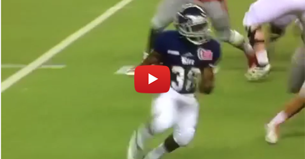 4'9 RB Jayson Carter gets a rare carry for Rice in the Hawaii Bowl