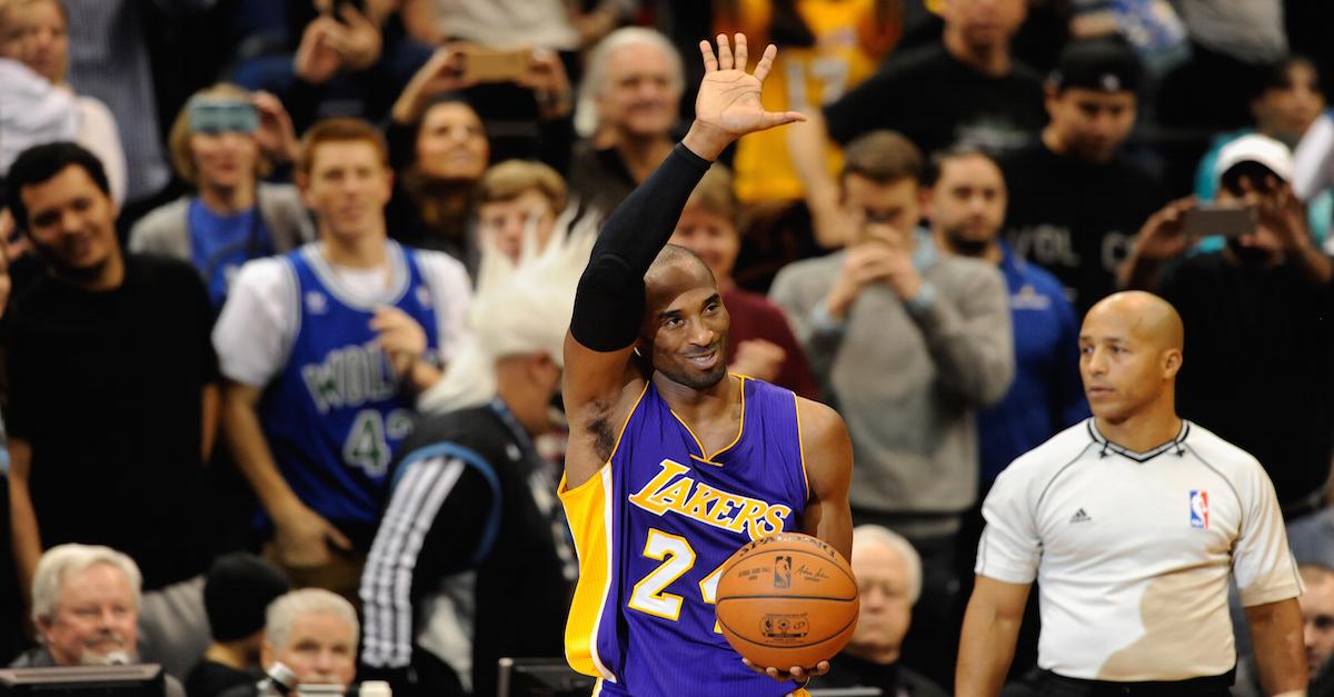 "Michael Jordan to Kobe Bryant on moving up the all-time scorer's list: ""Go get Karl (Malone)"""
