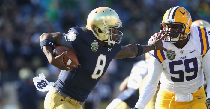 Notre Dame QB Malik Zaire has reportedly made his transfer decision