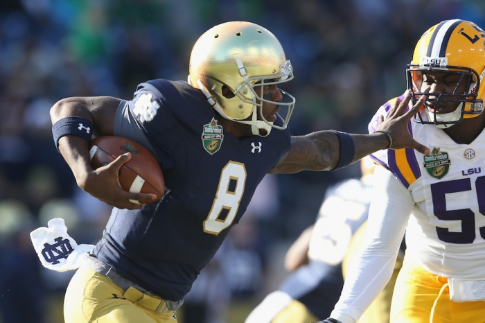 Malik Zaire could reportedly be pushing for a decision that has major conference implications