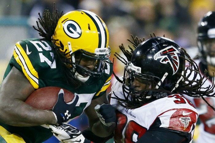 Packers RB Eddie Lacy is 'very blind' but won't wear goggles on field