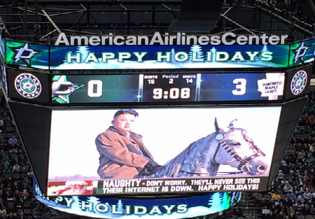 The Dallas Stars' Jumbotron is at it again, cleverly trolls North Korea