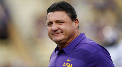 "Ed Orgeron Singing ""Hold That Tiger"" on Voicemails Will Always Be Classic"