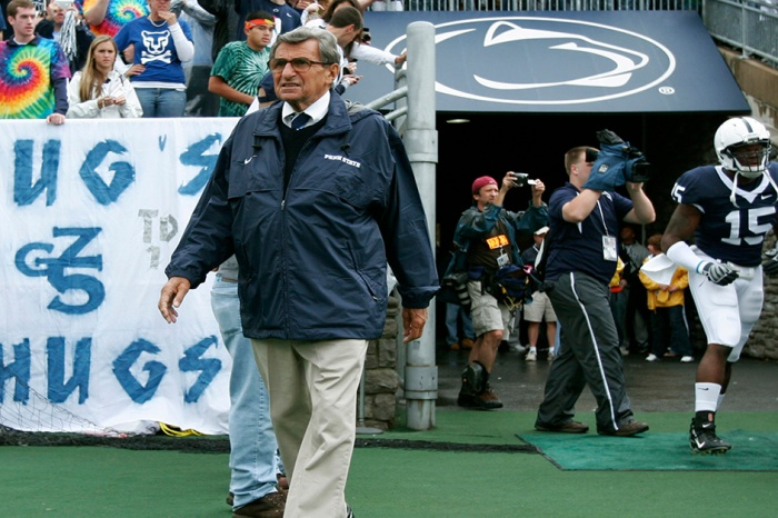 "NFL player on breaking Joe Paterno's leg: ""My proudest moment in college"""