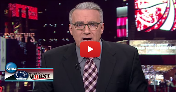 Keith Olbermann attacks Penn State and the NCAA