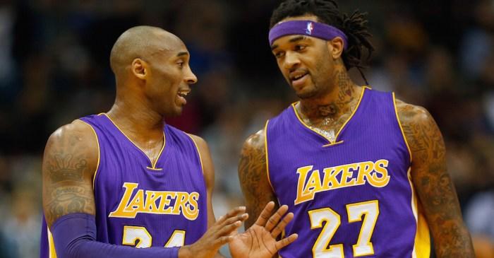 Lakers coaches play trade deadline prank on Jordan Hill