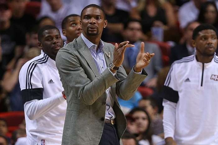 The Miami Heat are reportedly nearing a resolution with injured star Chris Bosh