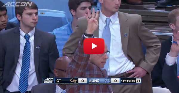 UNC runs Four Corners offense in honor of Dean Smith
