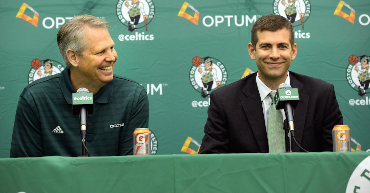 The rich get richer as the Boston Celtics reportedly sign former top-10 pick