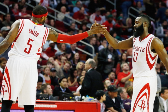 """Josh Smith calls James Harden suspension """"absurd,"""" speculates on why league handed it down"""