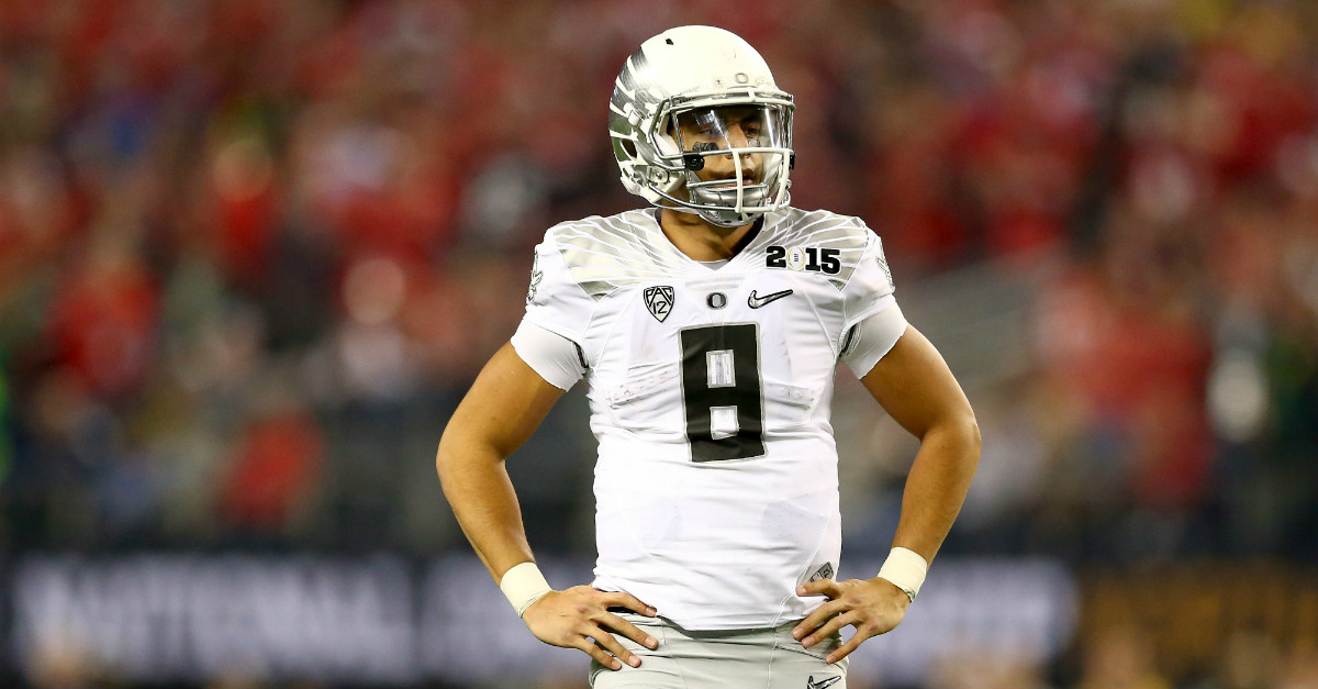 Tampa Bay Buccaneers are concerned about a non-football issue with Marcus Mariota
