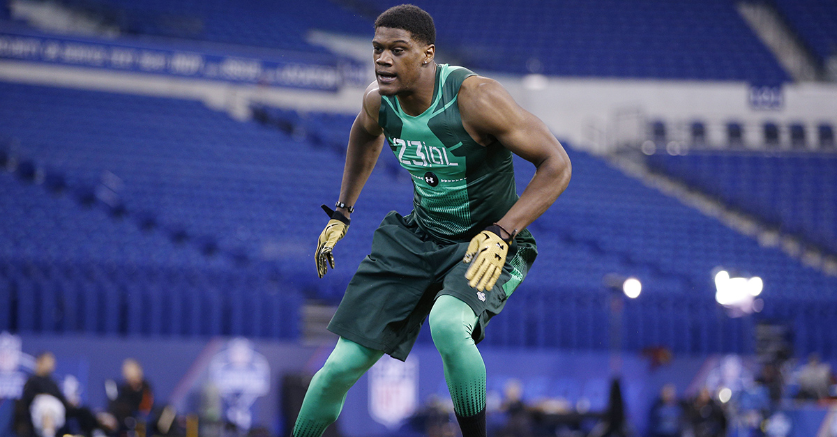 Former Nebraska DE Randy Gregory failed a drug test at the NFL Combine