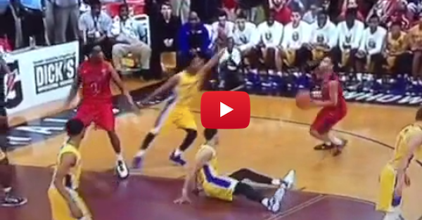 This is the ultimate five-star ankle breaker