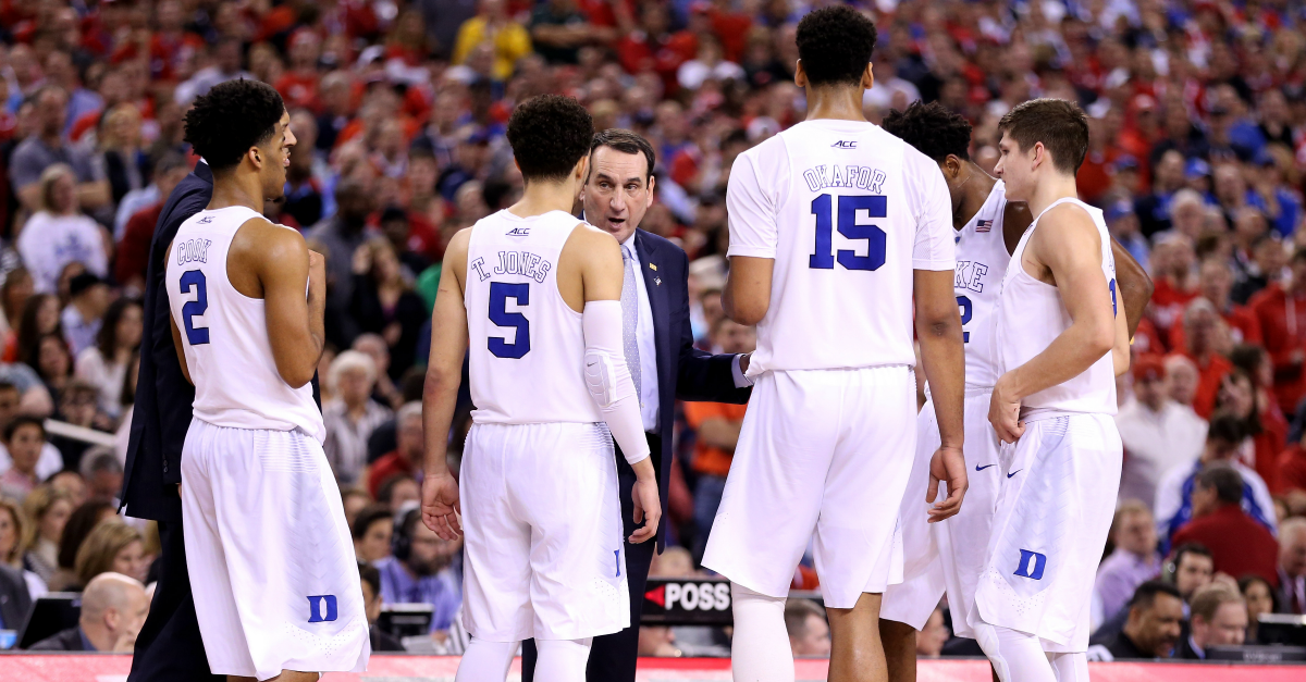 Duke honors freshman class with awesome Instagram post