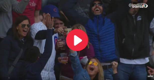 Nothing Says Baseball Like Catching Foul Balls With a Beer
