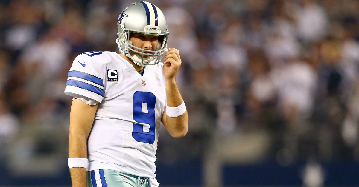 Tony Romo is all for second chances, even if it involves hitting women