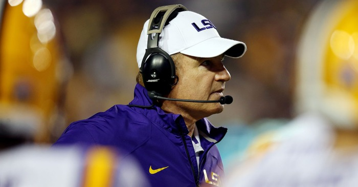 Former LSU coordinator claims school tried to fire Miles years before today