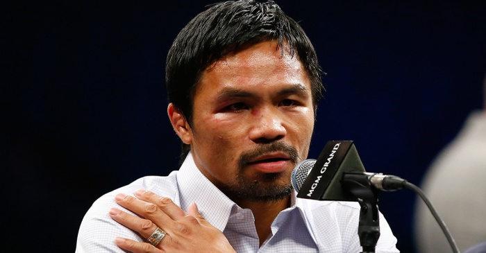 Manny Pacquiao taking action following controversial WBO title loss to Jeff Horn