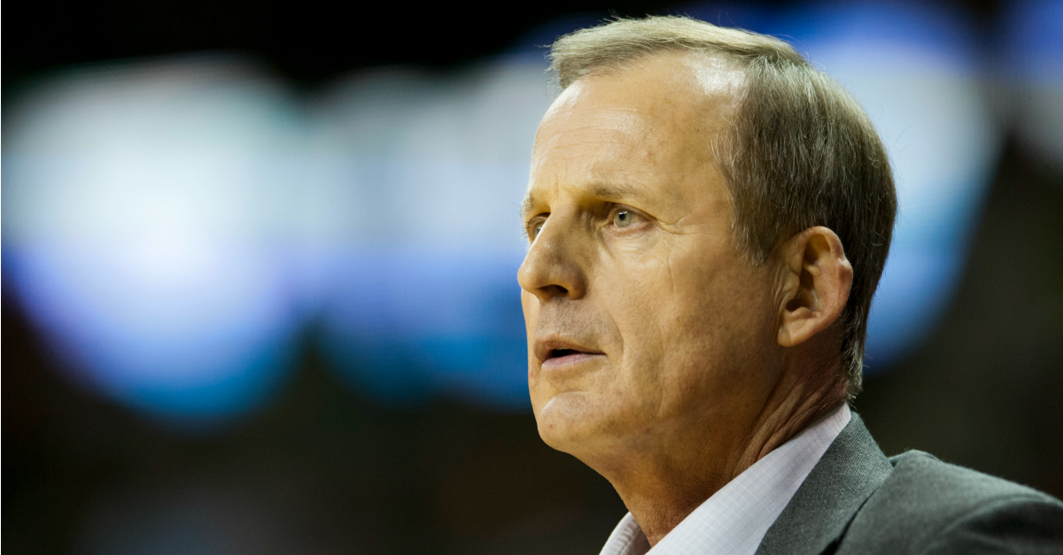 Rick Barnes was a TV star — once upon a time