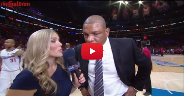 Doc Rivers rips officials during sideline interview