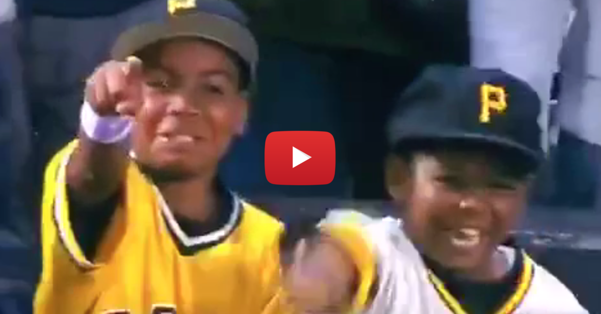 These adorable kids go nuts when Andrew McCutchen acknowledges them