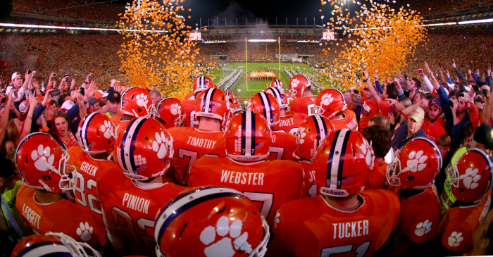The 20 Most Electric Entrances in College Football