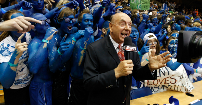 "Dickie V has a new super seven list with one ""shocker"" on it"