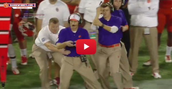 Clemson puts out funny video with 'Get Back' coach