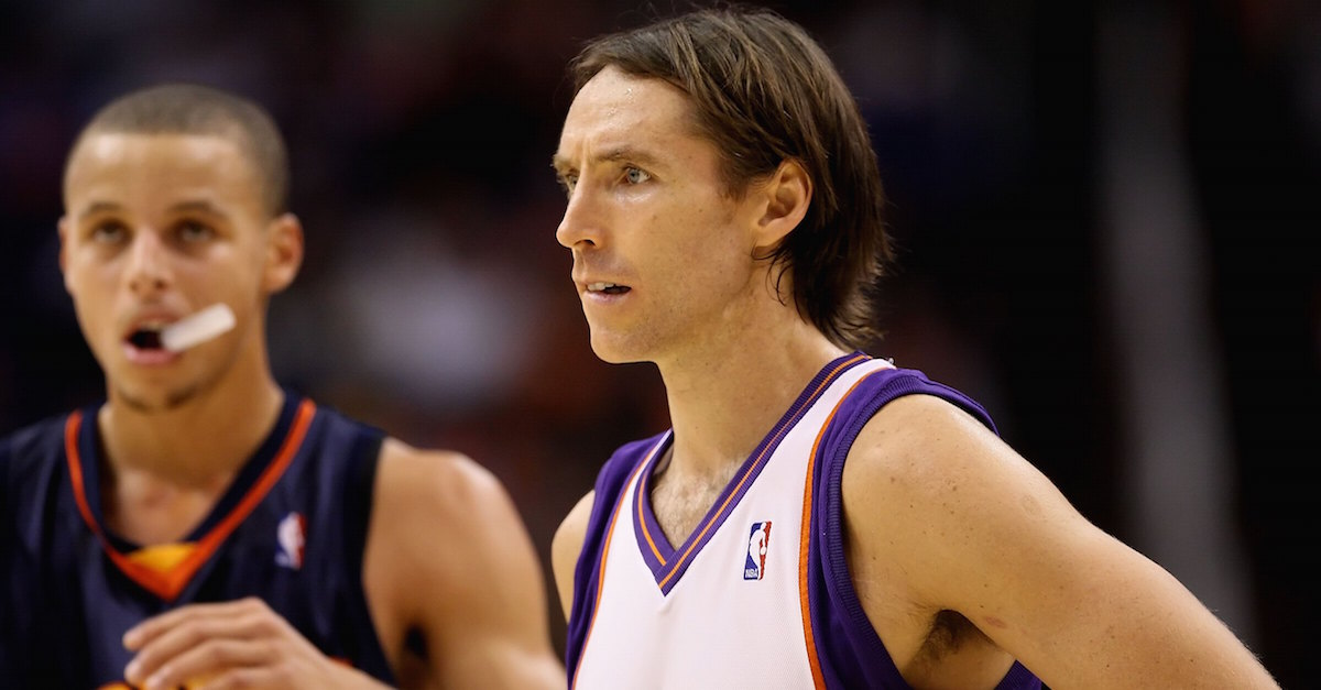 Steve Nash has high praise for Stephen Curry