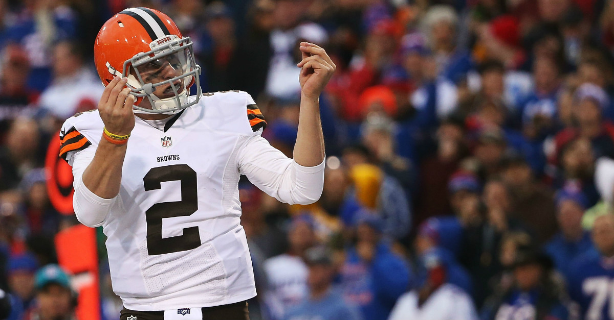 Johnny Manziel is retiring his signature money sign