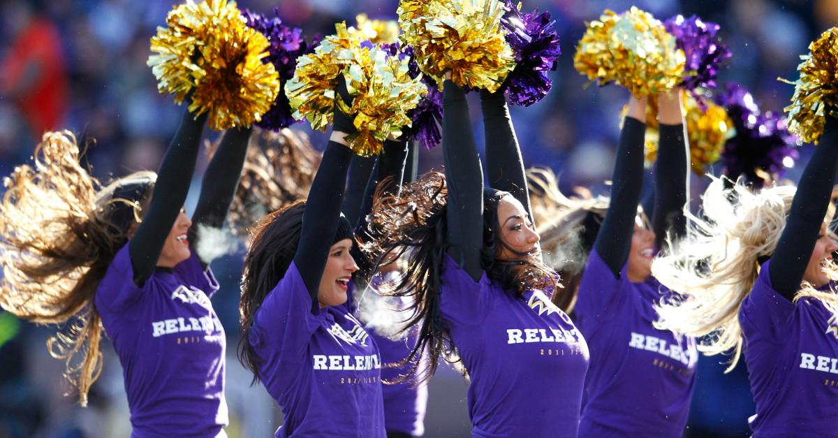 Ex-Ravens cheerleader pleads guilty to raping boy