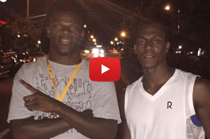 Louisville QB torches NBA PG Rajon Rondo in a foot race