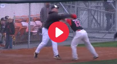 Coach Lands Haymaker In Alaskan Minor League Baseball Fight