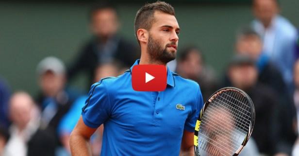 Tennis player kicks chair mid-play at Wimbledon
