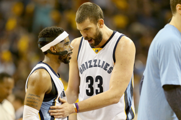 Marc Gasol will stay with the Grit 'N' Grind squad