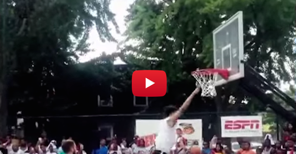 This guy tried to pull off a Blake Griffin dunk and horribly failed
